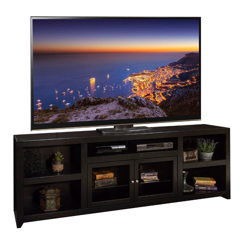 Rc Willey Tv Deals: 96 Inch Mocha TV Stand - Skyline