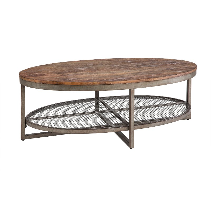 Ink ivy sheridan wood metal rustic industrial coffee table Rustic wood and metal coffee table