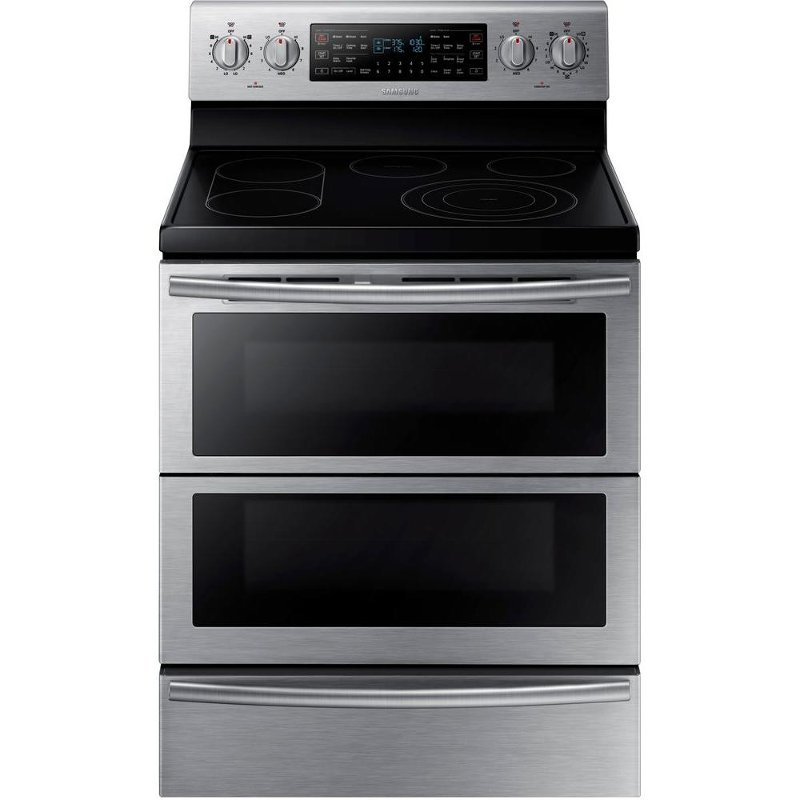 Samsung Double Oven Electric Range With