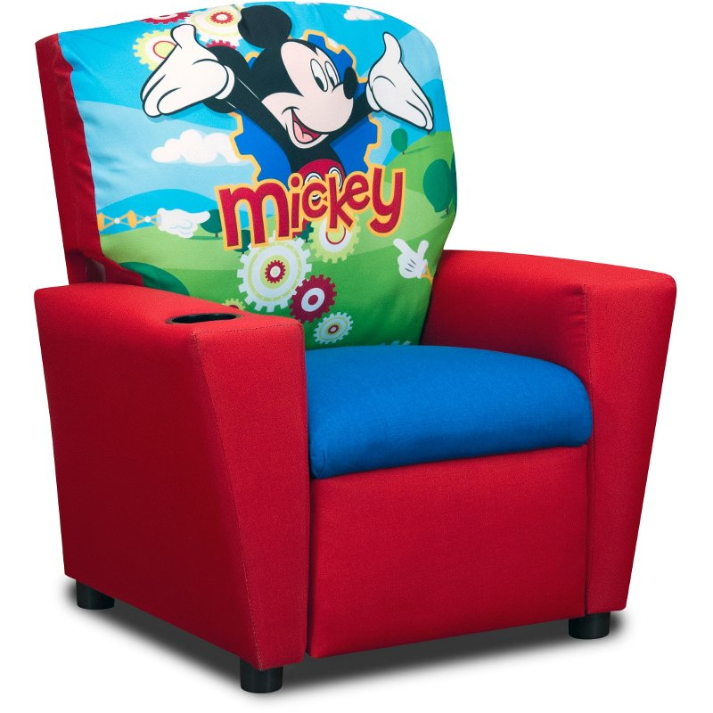 Disneyu0027s Kidu0027s Recliner   Mickey Mouse Clubhouse