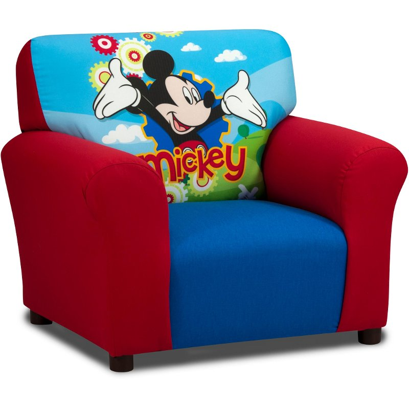 disney chair without ottoman mickey mouse club rc willey rh rcwilley com disney chair with storage drawer disney chairman of the board