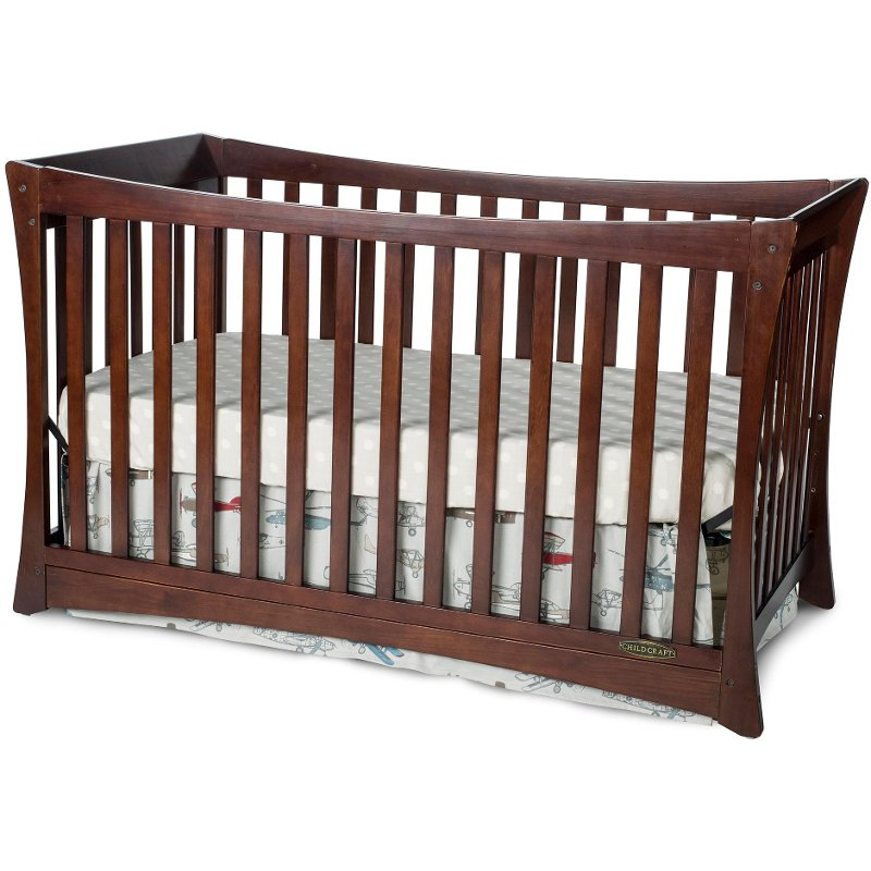 Parisian Child Craft Select Cherry 3 In 1 Full Size Crib