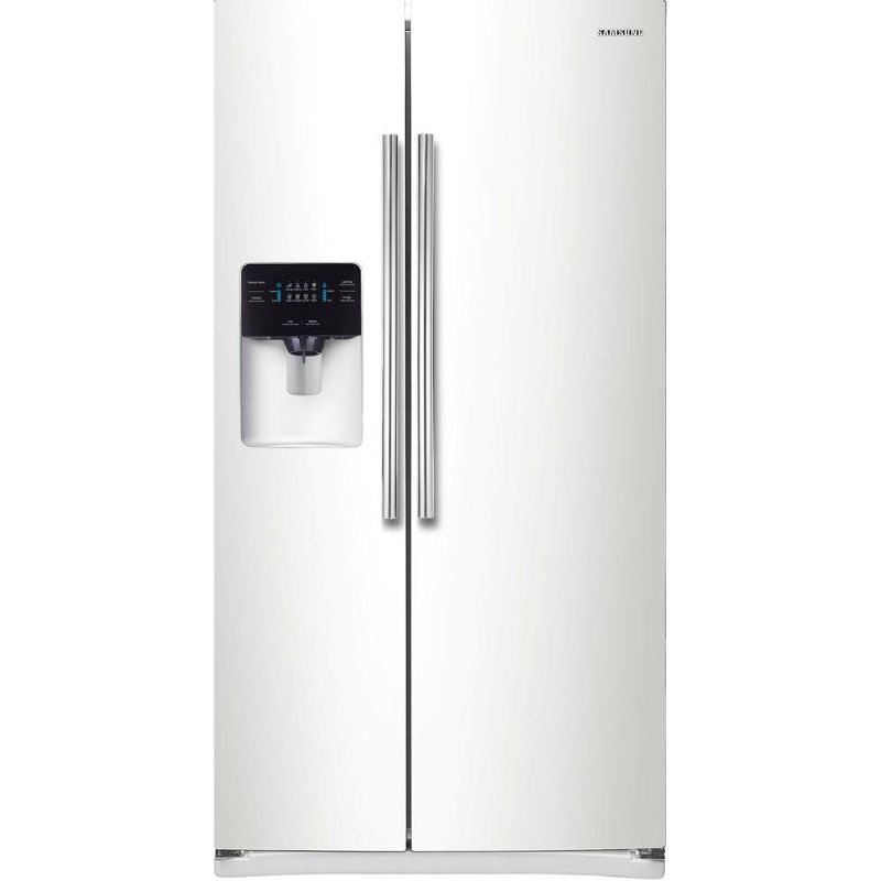 Samsung Side By Side Refrigerator 36 Inch White Rc