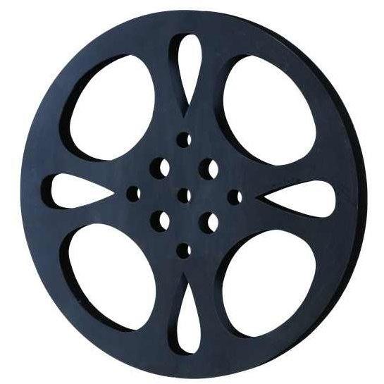 Metal Movie Reel Wall Decor