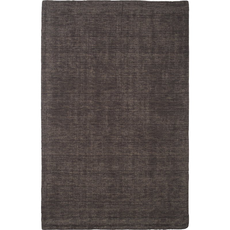 8 X 10 Large Charcoal Gray Area Rug Basics Rc Willey Furniture