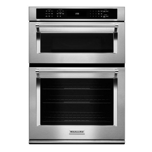 KitchenAid Combination Double Wall Oven With Microwave   Stainless Steel |  RC Willey Furniture Store