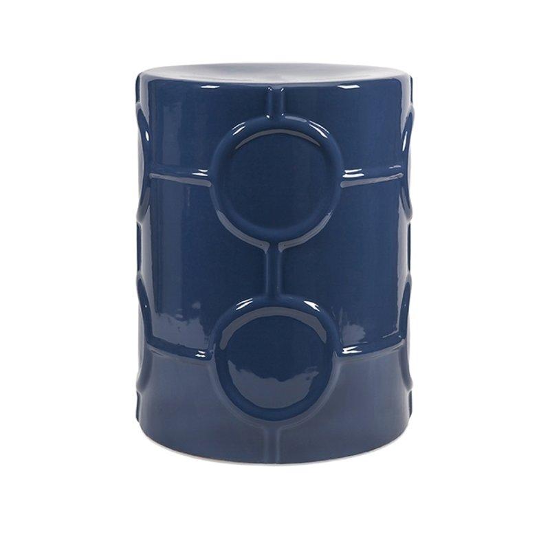 blue garden stool. Blue Garden Stool