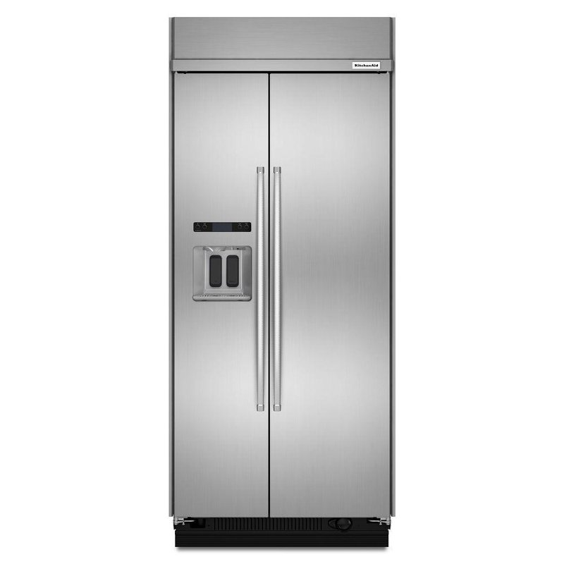 Kitchenaid Built In Side By Side Refrigerator 36 Inch