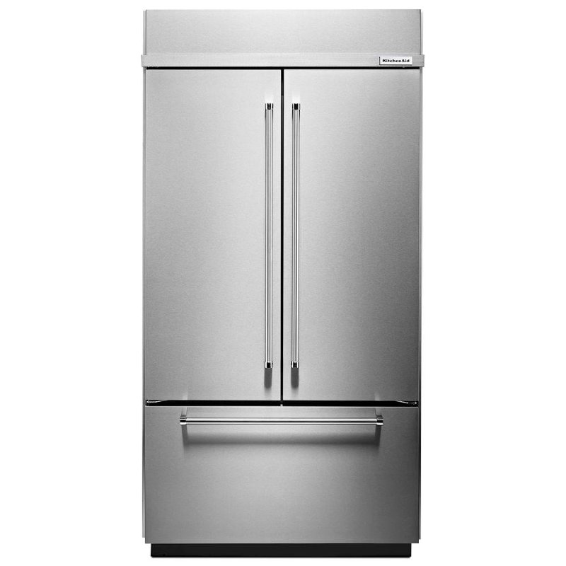 KitchenAid Built-In French Door Refrigerator - 42 Inch Stainless Steel