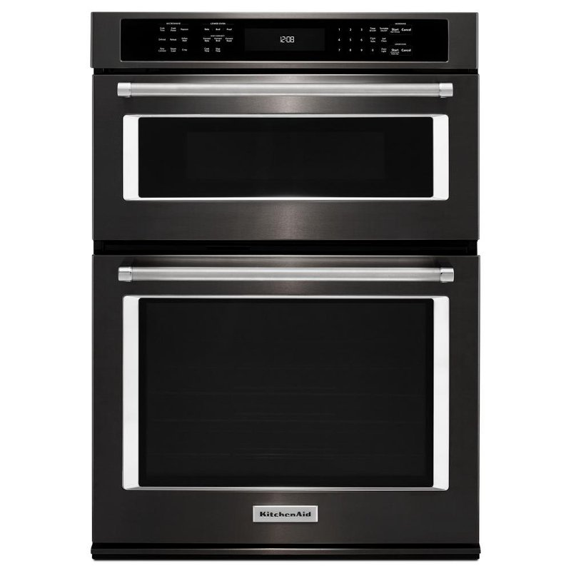 Good KOCE500EBS SSCOMBO KitchenAid 30 Inch Combination Wall Oven With Microwave    Black Stainless Steel