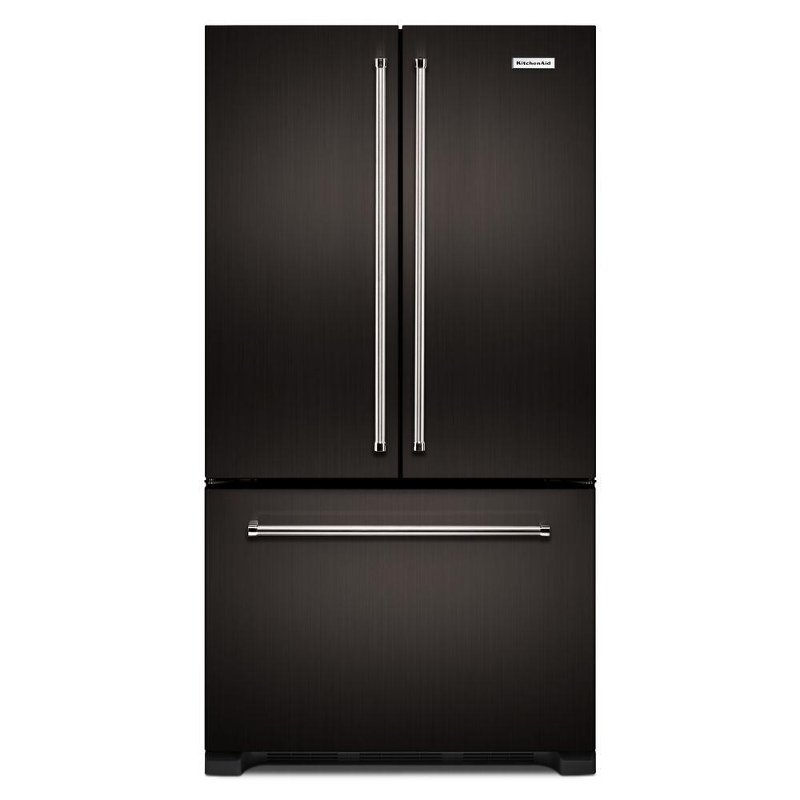 Incroyable KitchenAid French Door Refrigerator   36 Inch Black Stainless Steel Counter  Depth | RC Willey Furniture Store