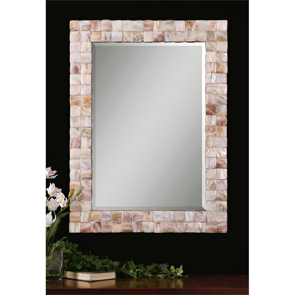 Rc Willey Orem: Mother Of Pearl Wall Mirror