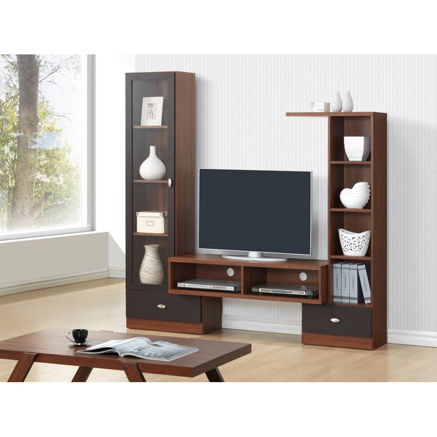 Terrific Modern Dark Brown Tv Stand Empire Gmtry Best Dining Table And Chair Ideas Images Gmtryco