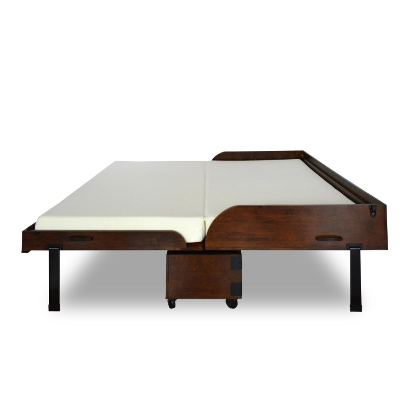 Xtrabed Chocolate Wood Full Guest Bed