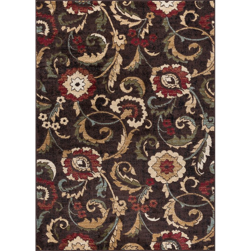 Large Area Rugs Gold: 8 X 10 Large Brown, Gold, And Beige Area Rug - Laguna