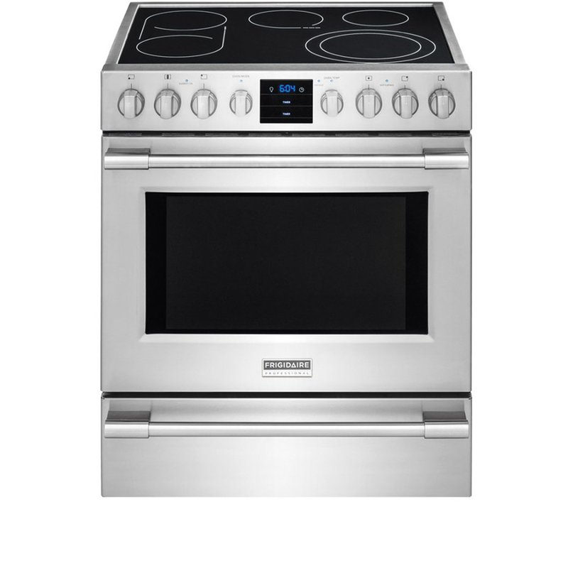 Frigidaire Professional Electric Range 5 1 Cu Ft Stainless Steel Rc Willey Furniture