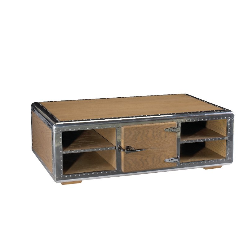 Rc Willey Store: Oak Coffee Table - Ferault