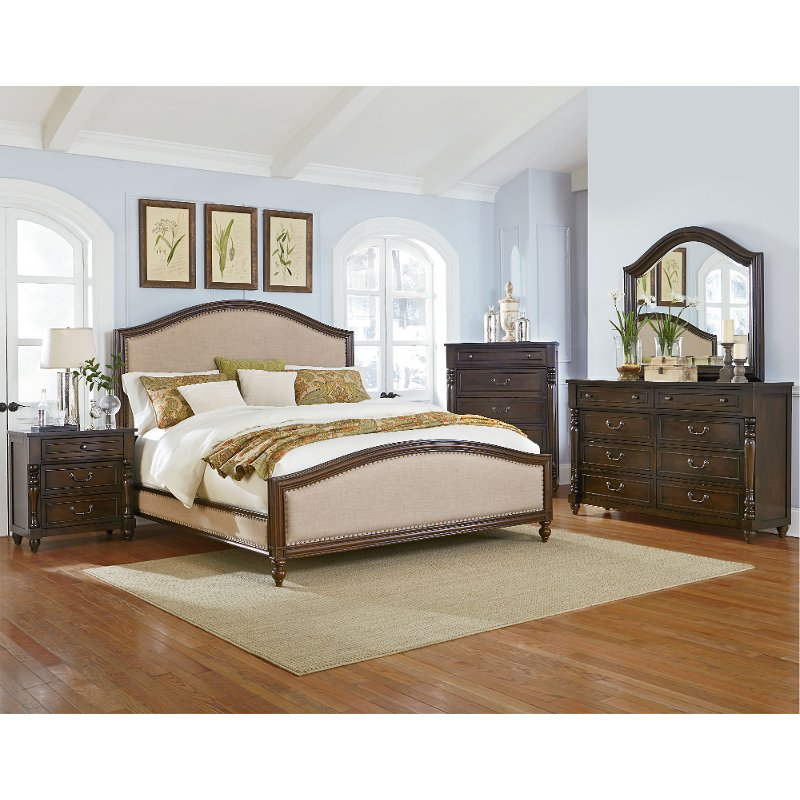 Willey Furniture: McGregor Brown 6 Piece Queen Bedroom Set