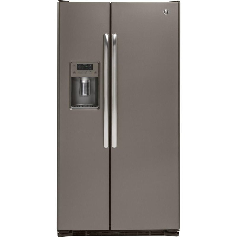 GE Side By Side Counter Depth Refrigerator   36 Inch Slate | RC Willey  Furniture Store