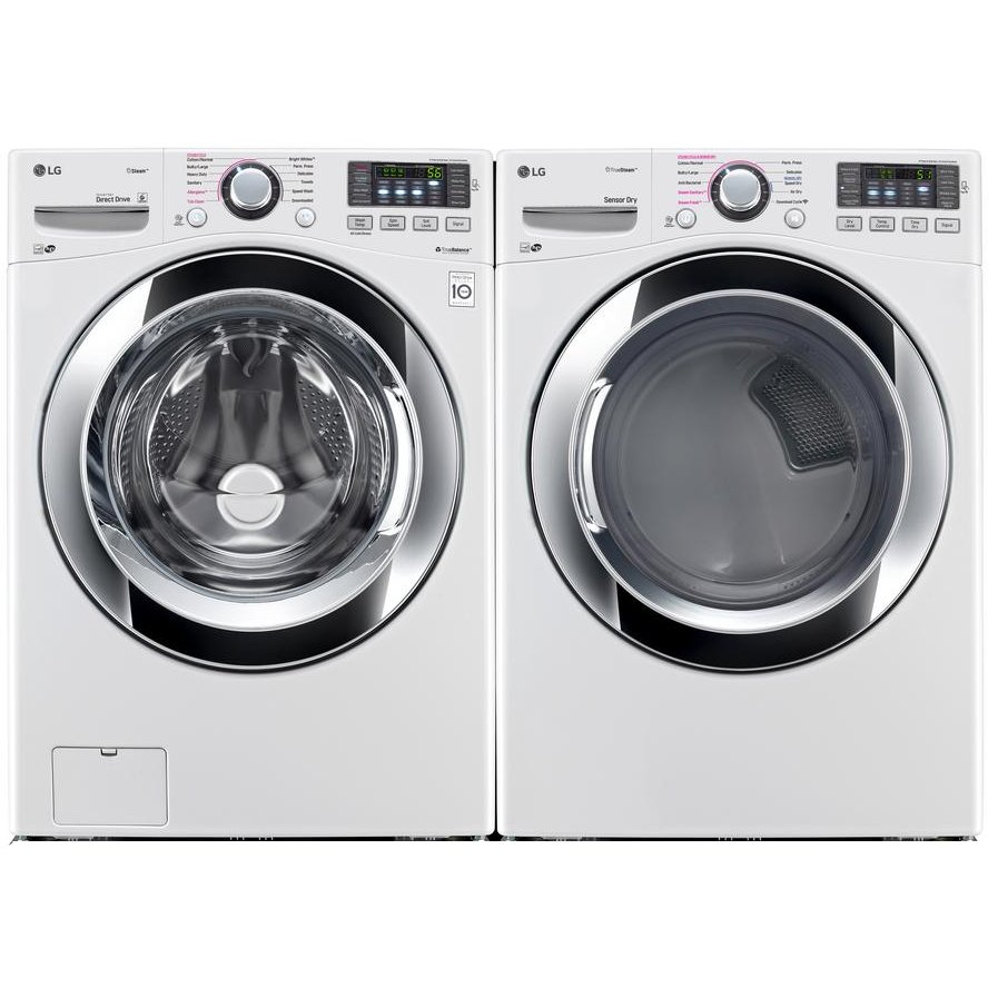 Lg Front Load Washer And Ultra Large Capacity Dryer Set