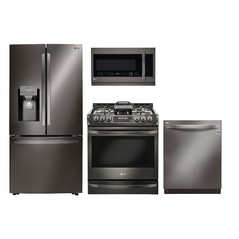 LG Diamond Collection 4 Piece Appliance Package