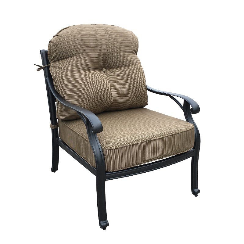 Moab Collection Patio Club Chair with Cushion
