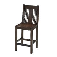 Prairie Black Oak Counter Stool Rc Willey Furniture Store