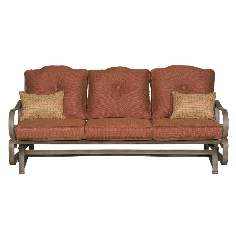 Willey Furniture: Bennington Outdoor Sofa Glider