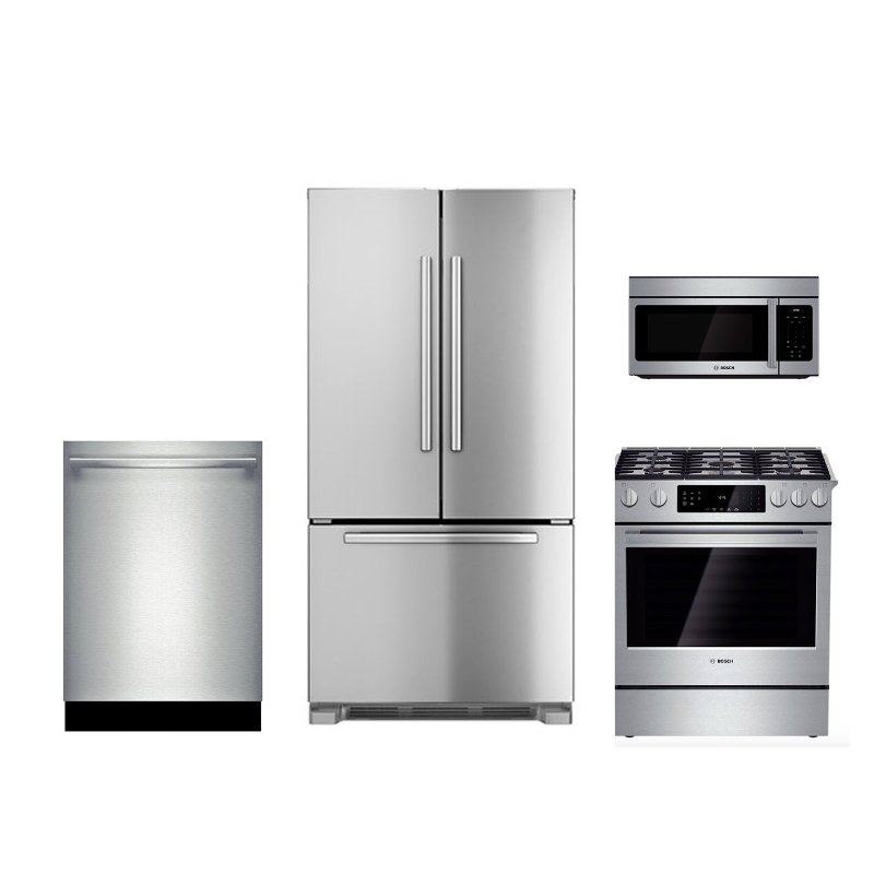 Bosch 4 Piece Kitchen Package