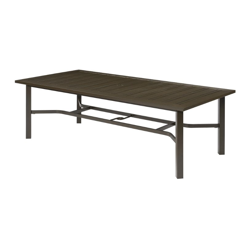 Etonnant Rectangular Outdoor Patio Table   Chatham