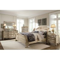6PC3063EMPIREII66 Schnadig 6-Piece King Bedroom Set