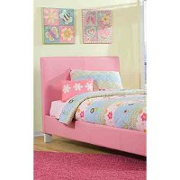 FANTASIA-PINK-BED46 Standard Furniture Full Bed