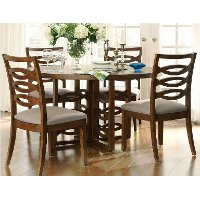 5PC:801DINING Claire De Lune 5-Piece Dining Set