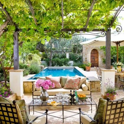 Have You Been Working On Getting Your Yard/patio In Tip Top Condition? Here  Are Some Beautiful Patios That Are Getting Me Inspired In My Quest To  Create A ...
