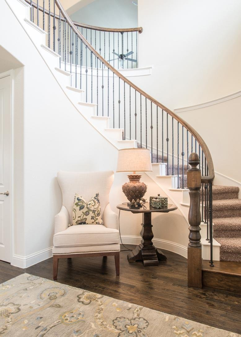 stairs & Interior Design Basics: Psychological Effects of a Line | RC Willey Blog