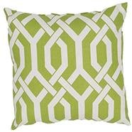 Green Outdoor Patio Pillow