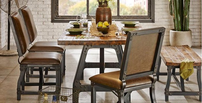 Industrial Dining Room. Ink   Ivy Dining Room Furniture   RC Willey Blog