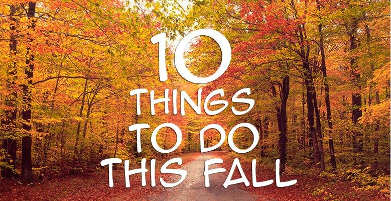 things to do fall