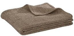 brown throw blanket