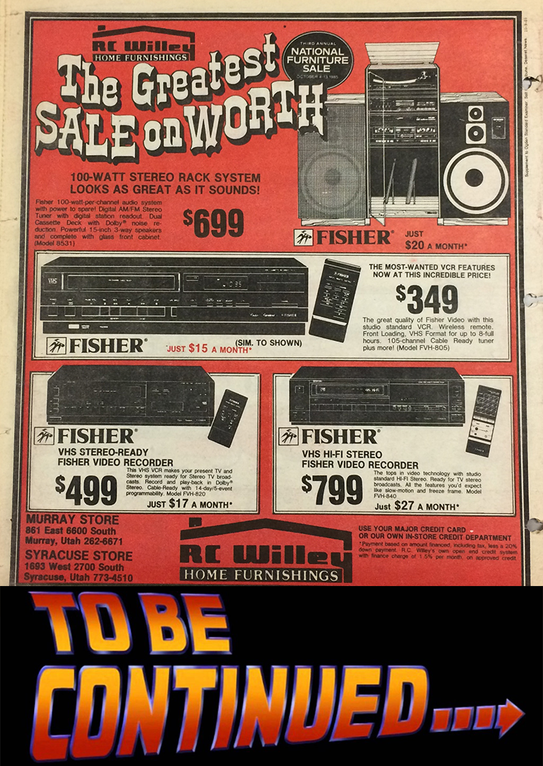 old rc willey ad