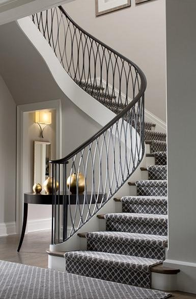 Stair carpet trends floor matttroy for What is the best carpet for stairs high traffic