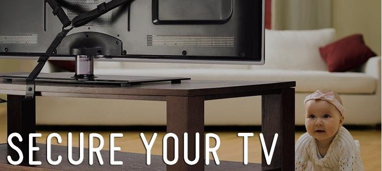 how to secure your tv
