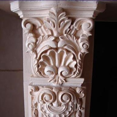custom fireplace detail