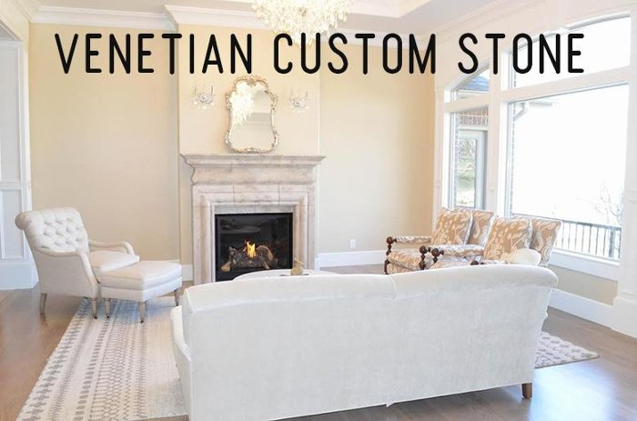 Custom Stone Fireplaces. Custom Fireplaces at RC Willey Venetian Stone  Blog
