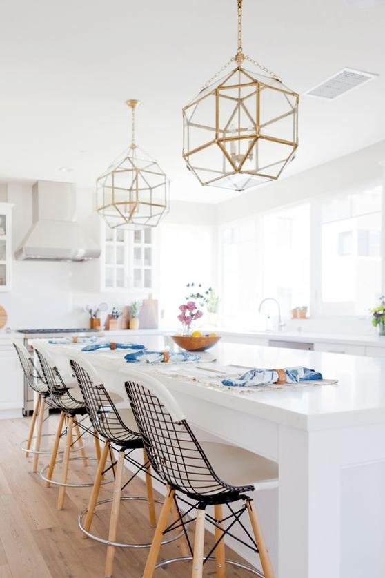 When we moved to the east coast last summer we were shocked when we arrived to our new apartment and found that there were literally NO LIGHTS in the family ... & Statement Lighting | RC Willey Blog azcodes.com