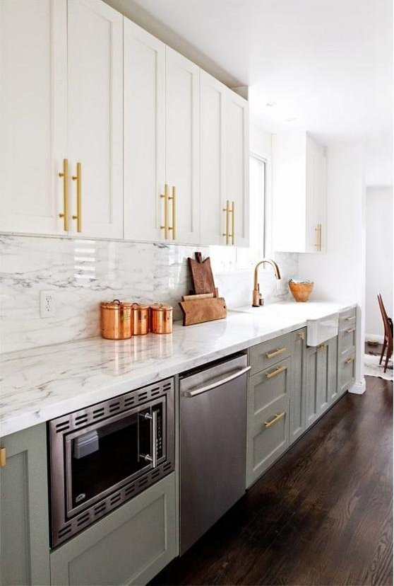 Trend Alert: Two Toned Kitchen Cabinets | RC Willey Blog