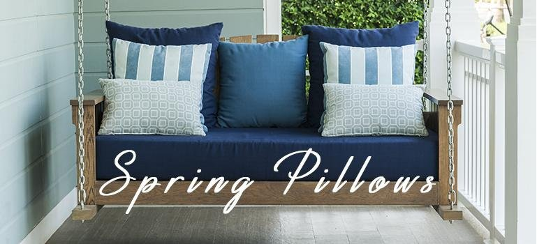 spring pillows for home