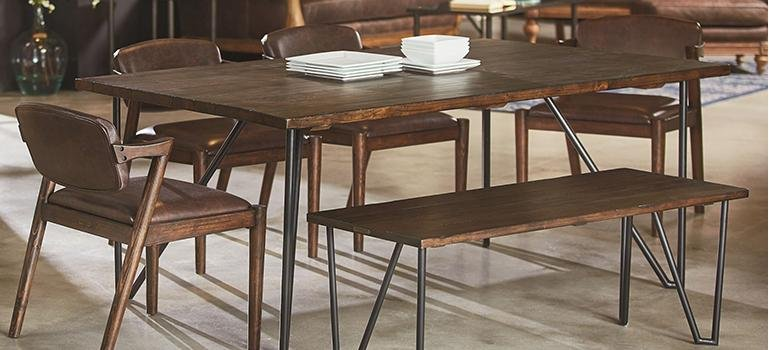 Magnolia Home Furnishings Barn Door Table