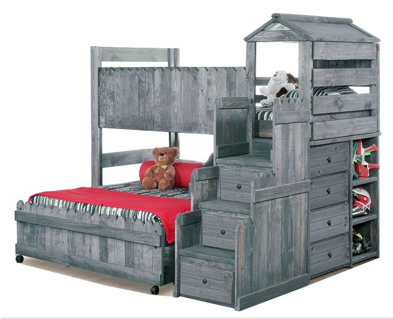 bunk bed playhouse