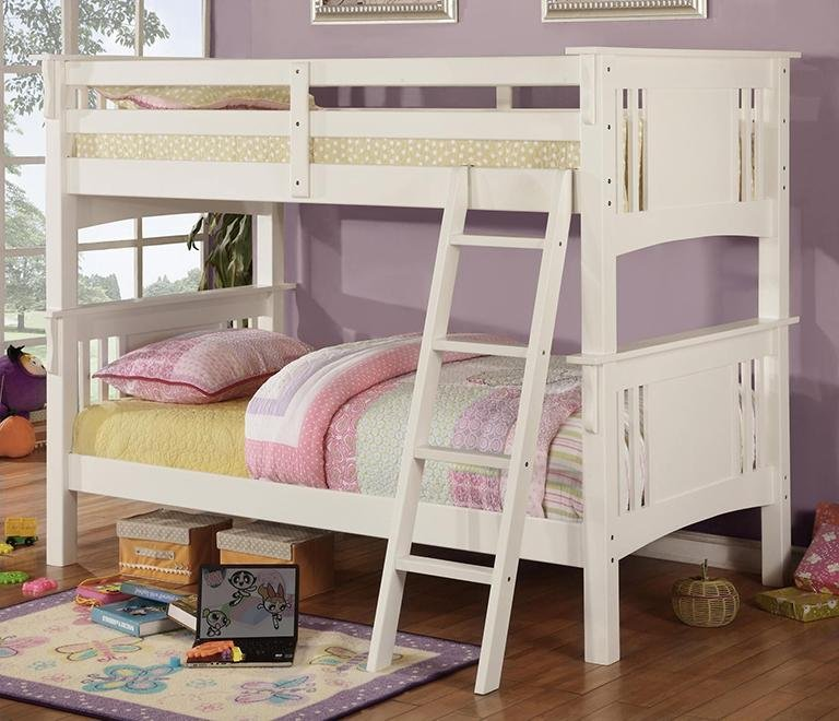 white bunk bed at rc willey